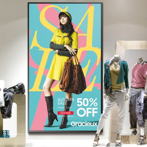 http://Samsung%20digital%20signage%20screen%20in%20the%20window%20of%20a%20clothing%20retail%20store